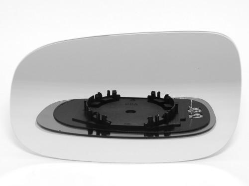 VOLVO C30, veidrodėlio stiklas-šildomas-kairė.