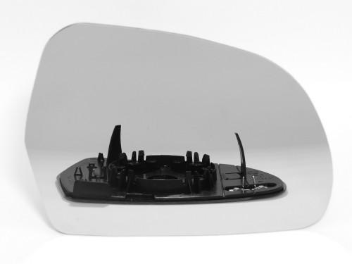 AUDI, A3, A4, A6, Q3, veidrodėlio stiklas-šildomas-dešinė.