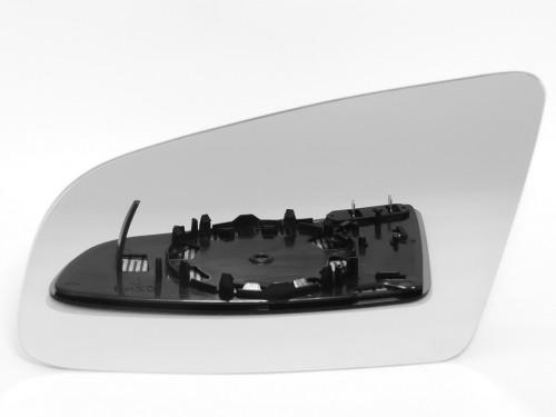 AUDI, A4 veidrodėlio stiklas-šildomas-kairė.