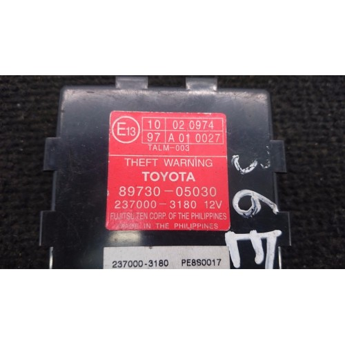 Toyota Avensis T25 Signalizacijos valdymo blokas 89730-05030 237000-3180