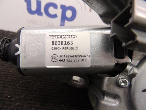 Volvo XC90 Galinio stiklo valytuvo varikliukas 8638163