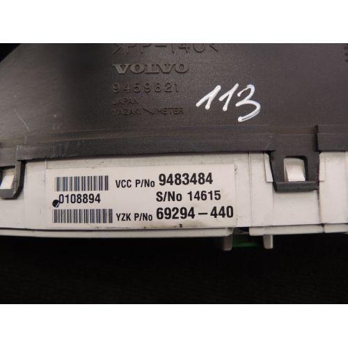 Volvo S80 Spidometras (prietaisu skydelis) 9483484