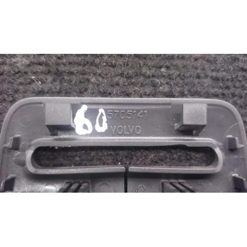 VOLVO S60 S80 Užpakalinio saugos diržo apsauginis dangtelis plastikine apdaila 5705141