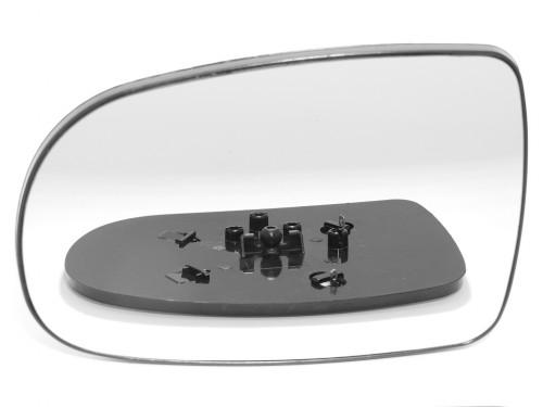 OPEL, CORSA veidrodėlio stiklas-šildomas-kairė.