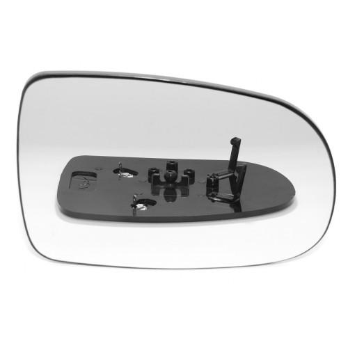OPEL, CORSA veidrodėlio stiklas/šildomas/kairė/.