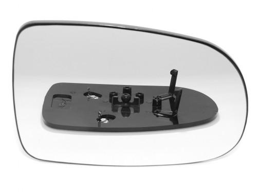 OPEL, CORSA veidrodėlio stiklas-šildomas-dešinė.